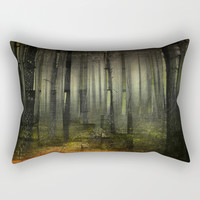 Why am I here Rectangular Pillow by happymelvin