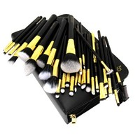 CICI&SISI Premium Collection 29 Pcs Supreme Quality Synthetic Hair Makeup Brush Set w/ Professional Case - Introduction Price Limited Offers