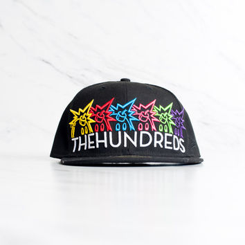 New Era x The Hundreds Big Adam Bomb Logo - 'Black'