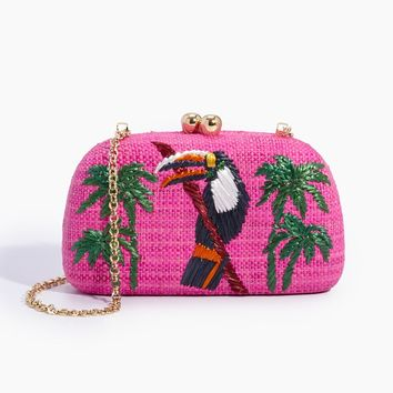 Mia Tucan Clutch - Pink