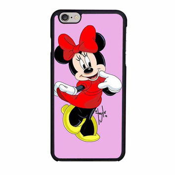 minnie mouse iphone 6 6s 4 4s 5 5s 6 plus cases