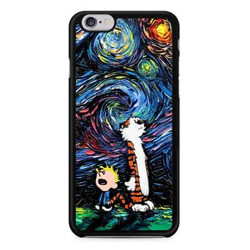 Van Gogh Calvin And Hobbes iPhone 6/6S Case