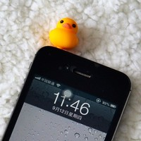 Fashion 3.5mm Cute Cartoon Duck Design Mobile Phone EarCap Dust Plug For Iphone For Samsung And All 3.5mm Earphone dust plug