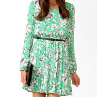 Essential Sketched Floral Dress