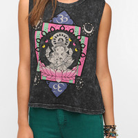 Urban Outfitters - Title Unknown Ganesha Mineral Wash Muscle Tee