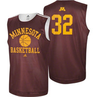 adidas Minnesota Golden Gophers #32 College Basketball Practice Jersey