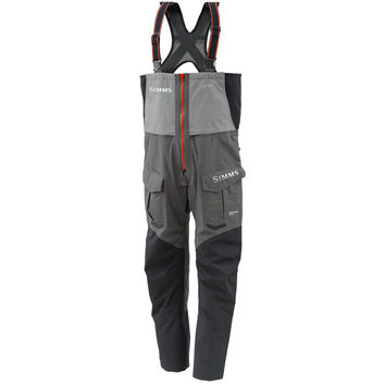 Simms ProDry Gore-Tex Bib Pant - Men's Steel Grey,