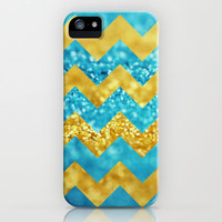 Blueberry Twist Chevron iPhone Case by Beth - Paper Angels Photography | Society6