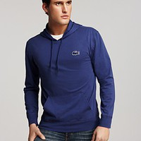 Lacoste New Croc Long Sleeve Hoodie - New Arrivals - Bloomingdales.com