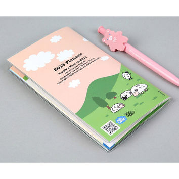2015 Chachap Hello lamb dated monthly planner scheduler