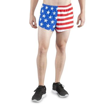 "USA Shorts-Men's 1"" split short"
