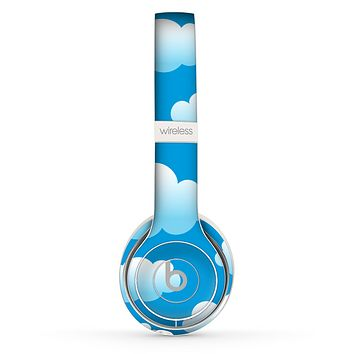The Cartoon Cloudy Sky Skin Set for the Beats by Dre Solo 2 Wireless Headphones