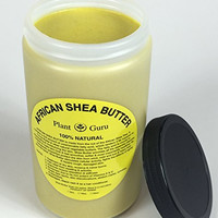 African Shea Butter Pure Raw Unrefined 32 Oz. From Ghana (Packaged in Hdpe Food Grade Jar with a Screw Cap To Ensure Freshness) (1 PACK)