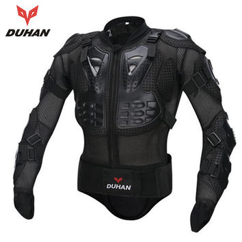 DUHAN Men's Motorbike Motorcycle Protective Body Armour/ Armor Jacket Guard Bike Bicycle Cycling Riding Biker Motocross Gear