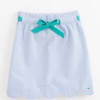 Girls' Skirts: Seersucker Margo Skirt for Girls' - Vineyard Vines