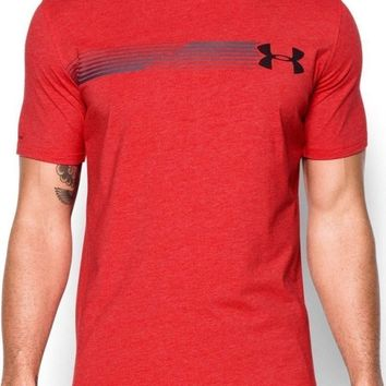 Under Armour 1271719 | Men's Shirt Fast Logo | Red | Medium