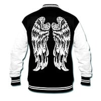 Angel Wing Varsity jacket
