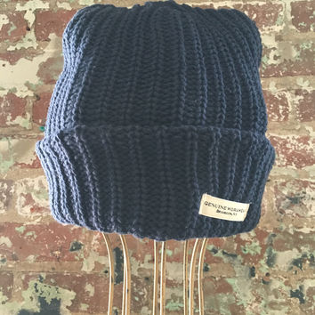 Genuine Workwear Knit Hat, Navy