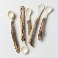 Anthropologie - Handcarved Bungalow Spoon