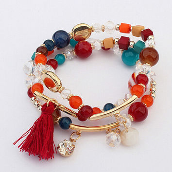 Shiny Gift Awesome Great Deal Hot Sale New Arrival Stylish Set Bracelet [6044171457]