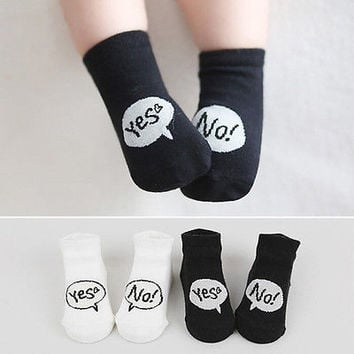 Cute Newborn Infant Baby Socks Boy Girl Cartoon Cotton Socks Toddler Socks S-MHU