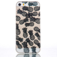 Pineapple mobile phone case for iphone 5 5s SE 6 6s 6plus 6s plus + Nice gift   box!