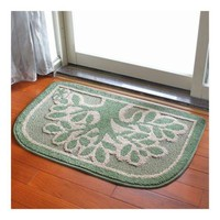 Ground Door Foot Mat Carpet   aroma green