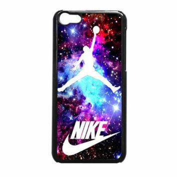 CREYUG7 Jordan Nebula Galaxy Nike iPhone 5c Case