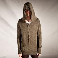 LOSANGELIST ? BETA UNIT / BUTTON-DOWN HOOD SWEATER If you look...