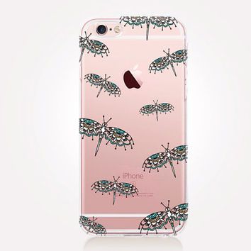 Transparent Dragonfly Phone Case - iPhone 6 Case - iPhone 5 Case - iPhone 4 Case - Samsung S4 Case - iPhone 5C - Tough Case - Matte Case