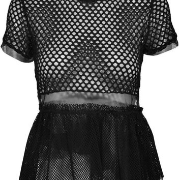 The Ragged Priest Breach Fishnet Top