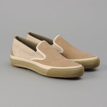 New Slip-On, Two-Tone Synth Suede
