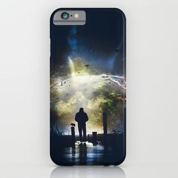 Melancholia iPhone & iPod Case by HappyMelvin