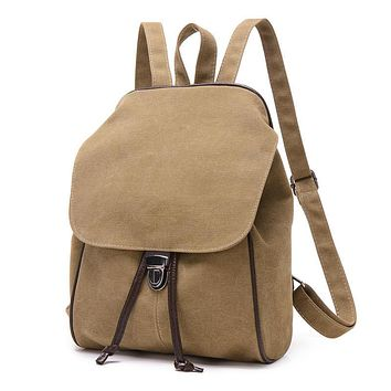 2016 New Casual Canvas Men Backpack Retro Vintage Male Students School Bags Man Shoulder Bags