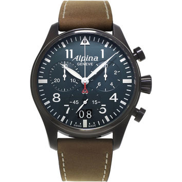 Alpina Startimer Pilot Mens Chronograph Quartz Watch AL-372N4FBS6
