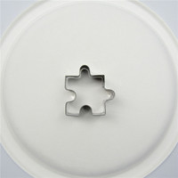Direct Selling,Small Puzzle Pieces Shape Cake Decorating Fondant Cutters Tools,Patterns Cake Cookie Biscuit Baking Molds