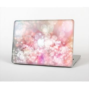 "The Unfocused Pink Abstract Lights Skin Set for the Apple MacBook Pro 15"" with Retina Display"