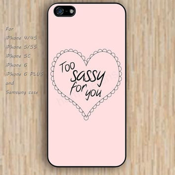 iPhone 5s 6 case colorful heart sassy for you phone case iphone case,ipod case,samsung galaxy case available plastic rubber case waterproof B302
