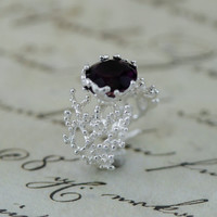 Amethyst Ring,Statement Ring, amethyst silver Ring, Gold Engagement Ring, amethyst Ring,amethyst promise Ring,unique Ring