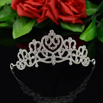 Accessory Korean Hair Accessories Headwear Crown Wedding Dress Prom Dress [6258316614]