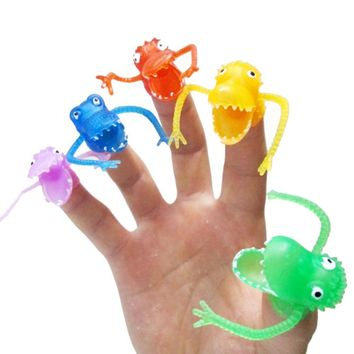 Small Finger Puppet Mini Dinosaur Gashapon Toys