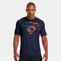 Men's USA Under Armour Alter Ego Superman T-Shirt