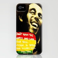 Bob Marley iPhone Case by Kayla Gordon | Society6