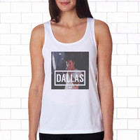 Cameron Dallas 1994 white Tanktop for women