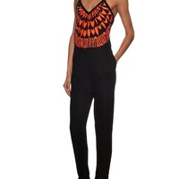 Peacefield-embroidered jersey jumpsuit | Mara Hoffman | MATCHESFASHION.COM UK
