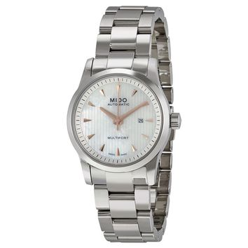Mido Multifort Stainless Steel Ladies Watch M005.007.11.101.00