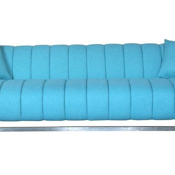 Butler Sofa Aqua Light Blue