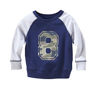 Cuddle Bear® Mix & Match Baby Boys' Long Sleeve Sweatshirt Tee at www.bostonstore.com