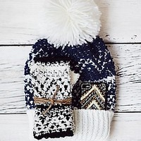 Free People Womens Jackson Pom Beanie