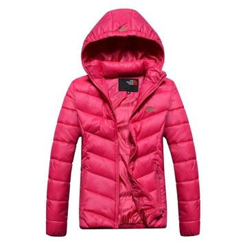 The North Face 2018 winter new warm outdoor cotton coat down jacket Red
